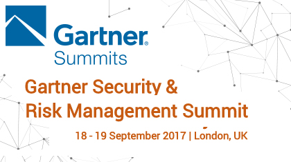 Gartner Security & Risk Management Summit - London