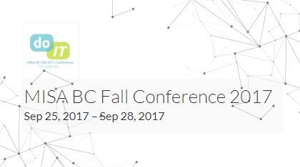 MISA BC Fall Conference 2017