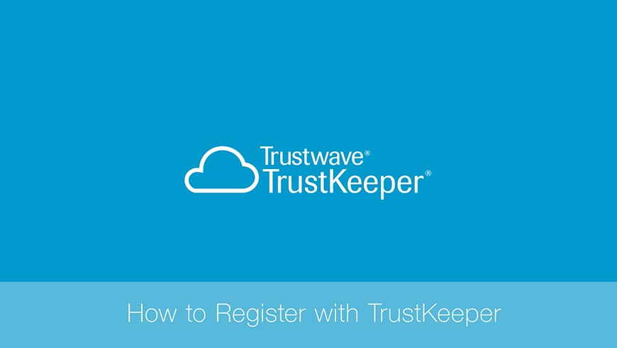 How to Register with TrustKeeper
