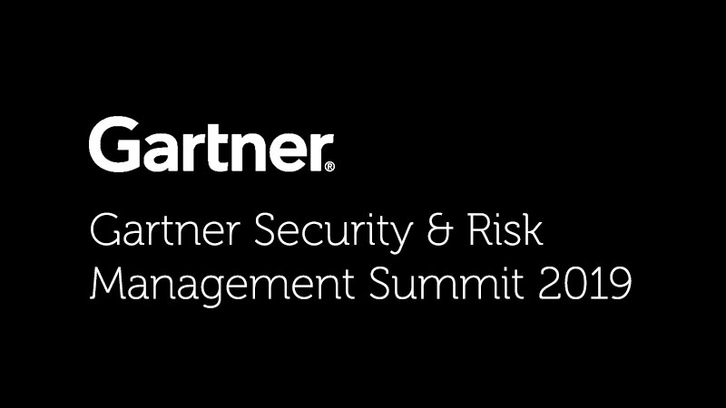 Gartner Security and Risk Management Summit 2019